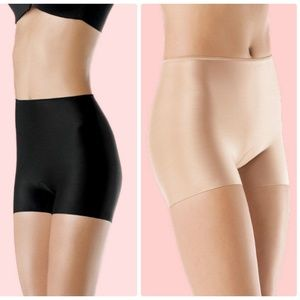 SPANX 393 Slim-plicity Girl Short BLACK & NUDE